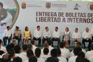 Chiapas libera a 124 presos como medida de gracia ante la visita papal