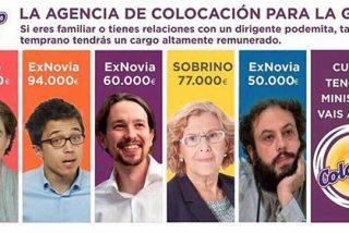 """Ciudadanos agita las redes sociales con la """"lista de los 44"""" colocados de Carmena y sus cuates"""