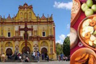 El papa compartirá arroz, pollo, verduras y fruta con los indígenas de Chiapas