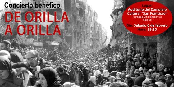 Cáceres acoge un concierto beneficio de dos proyectos de ayuda a los refugiados en Siria y Líbano
