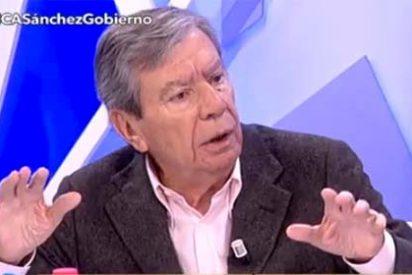 """José Luis Corcuera amenaza alto y claro a Pedro Sánchez: """"Si pacta con Podemos, me voy del PSOE"""""""