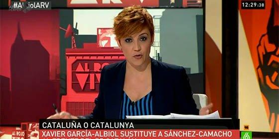 Cristina Pardo ('Al Rojo Vivo') le cierra la boca a una exaltada tuitera