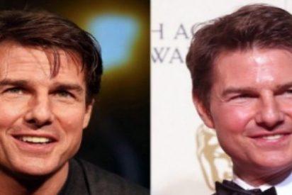 ¿Alguien sabe qué le ha pasado a Tom Cruise en la cara?
