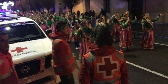 Cruz Roja Badajoz atiende un total de 28 incidencias durante el Carnaval