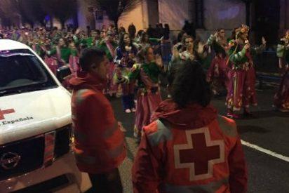 Medio centenar de Voluntarios de Cruz Roja Badajoz velarán por la seguridad en Carnavales