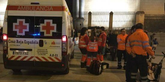 Cruz Roja atiende 8 incidencias leves en el Carnaval de Badajoz