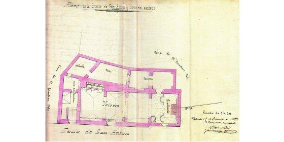 El Palacio de la Isla expone el documento del mes de febrero