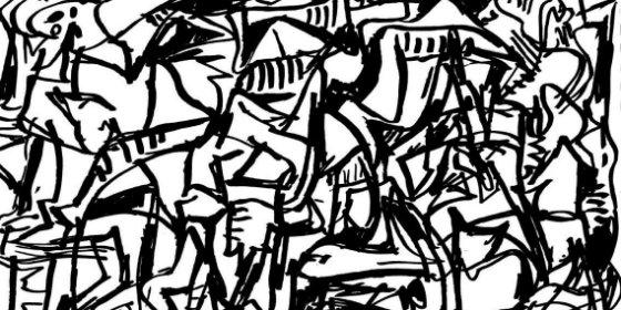 La colección permanente del MEIAC de Badajoz incorpora 215 dibujos de Juan Barjola