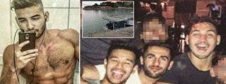 Los tres tipejos violan a una chica de 17 años en un váter y se libran de la cárcel pagando una multa