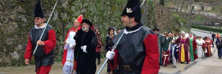 El emperador Carlos V regresa un año más a La Vera