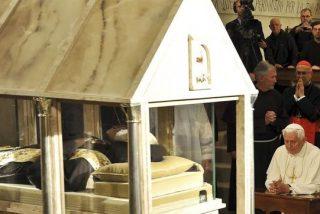 Las reliquias del Padre Pío ya viajan hacia el Vaticano