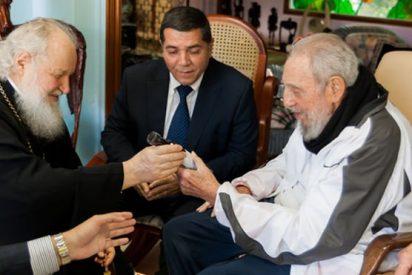 Fidel Castro se reúne con el Patriarca ruso