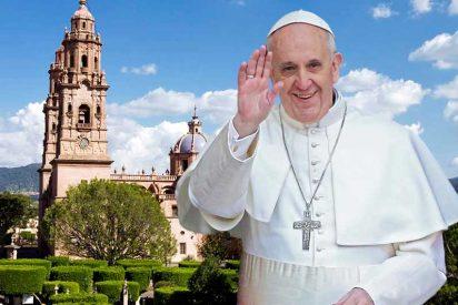 El Papa visita Morelia, para 'hacer lío' con los jóvenes y condenar el narcotráfico
