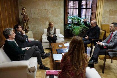La Upsa y el Ayuntamiento de Salamanca reforzarán su colaboración