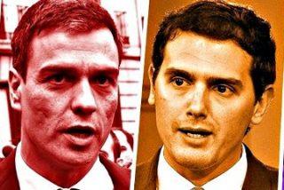 ¿Y si el plan de Pedro Sánchez fuera pactar un Gobierno solo con Ciudadanos?