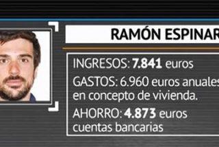 El pufo de las cuentas del senador podemita Ramón Espinar