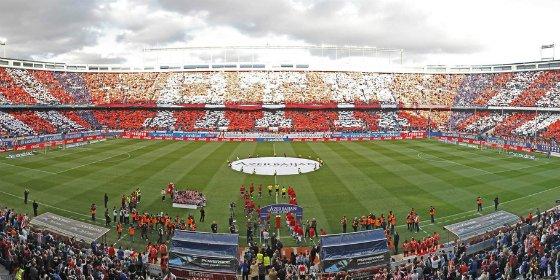 El Vicente Calderón acogerá la final de la Copa entre Barça y Sevilla