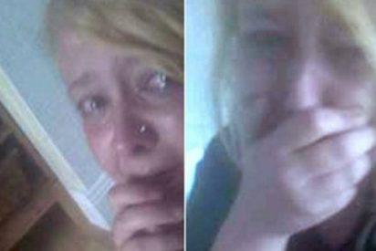 La aterrada joven salva su vida gracias a Facebook cuando el novio iba a matarla