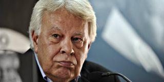 """Felipe González: """"Veo más posible y probable nuevas elecciones que un pacto"""""""