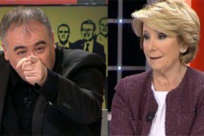 """Ferreras estalla contra Aguirre: """"Esperanza, insulta, que nos estimula"""""""