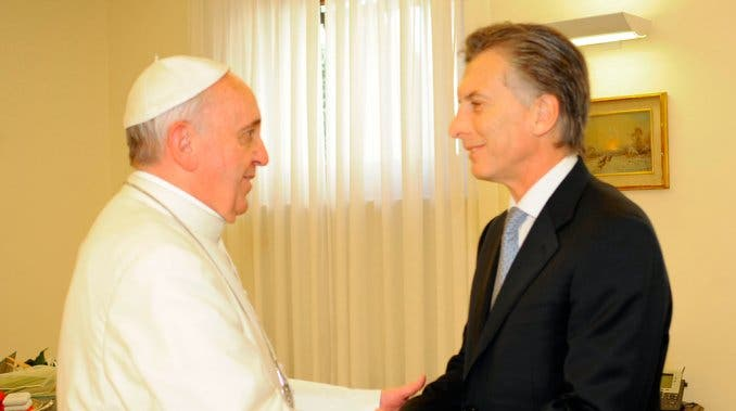 """""""Para el Papa primero el Pueblo, después Macri"""""""