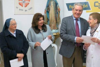 Fundación Caja Badajoz hace entrega de la recaudación del Concierto Extraordinario de Año Nuevo