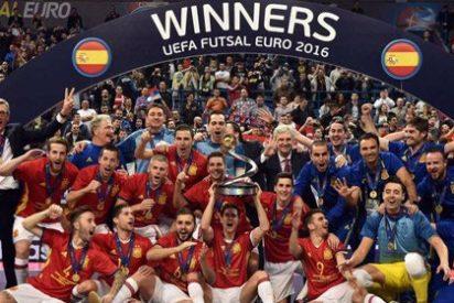 Heptacampeones de Europa de futbol sala