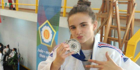 La extremeña Gala Martínez, medalla de plata en la Copa de Europa Cadete de Fuengirola