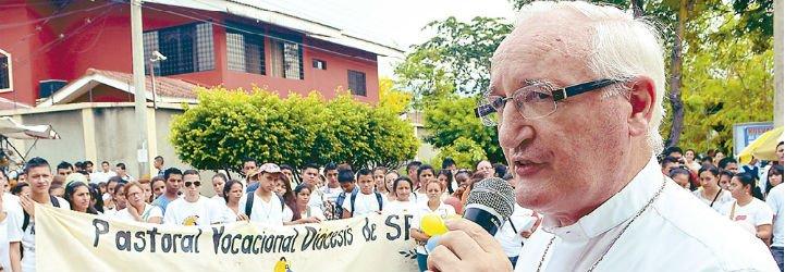 """Monseñor Garachana: """"He aprendido a sufrir con este pueblo, a no instalarme tranquilamente en la comodidad"""""""