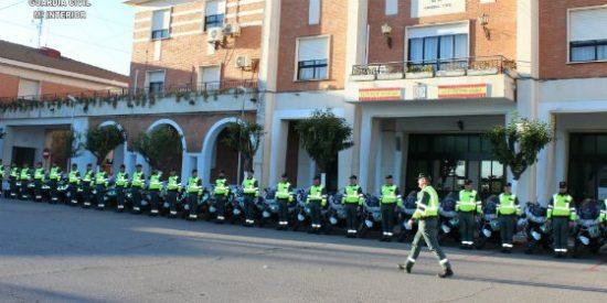 La Guardia Civil con la vuelta ciclista a Andalucía
