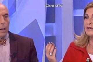 Carmen Tomás se marcha del plató de 13TV tras ser atacada por el socialista Antonio Hurtado