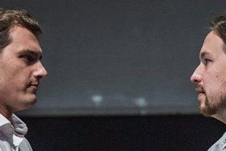 Albert Rivera y Pablo Iglesias se detestan ya tanto como Mariano Rajoy y Pedro Sánchez