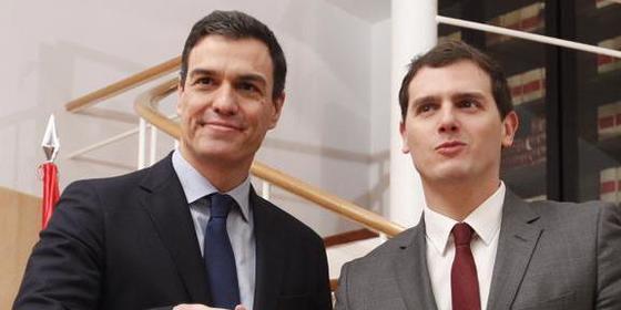 """Pedro Sánchez acepta las cinco condiciones de Albert Rivera: """"Decimos que sí"""""""