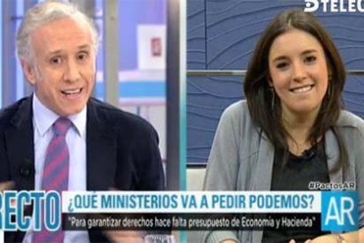 """La ministra podemita Montero quiere ya que los periodistas le pregunten con amabilidad: """"¡No sé por qué habla usted con tanta agresividad!"""""""