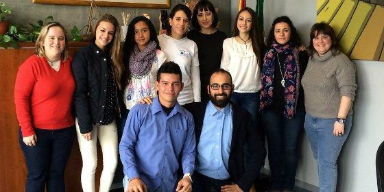 Jóvenes de Colombia y Extremadura conviven durante una semana en el marco de una red educativa de trabajo común
