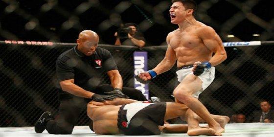 [VÍDEO] El brutal nocaut del chileno 'Pitbull' Diego Rivas en la UFC