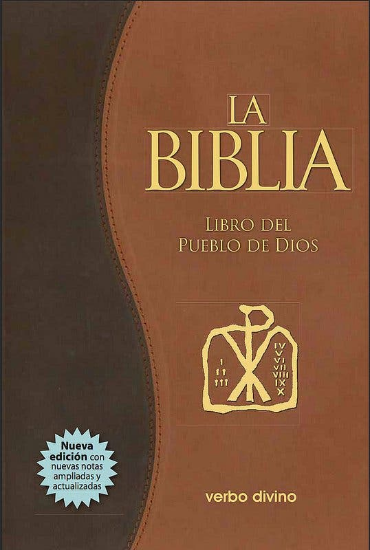 La Biblia de referencia del Papa Francisco