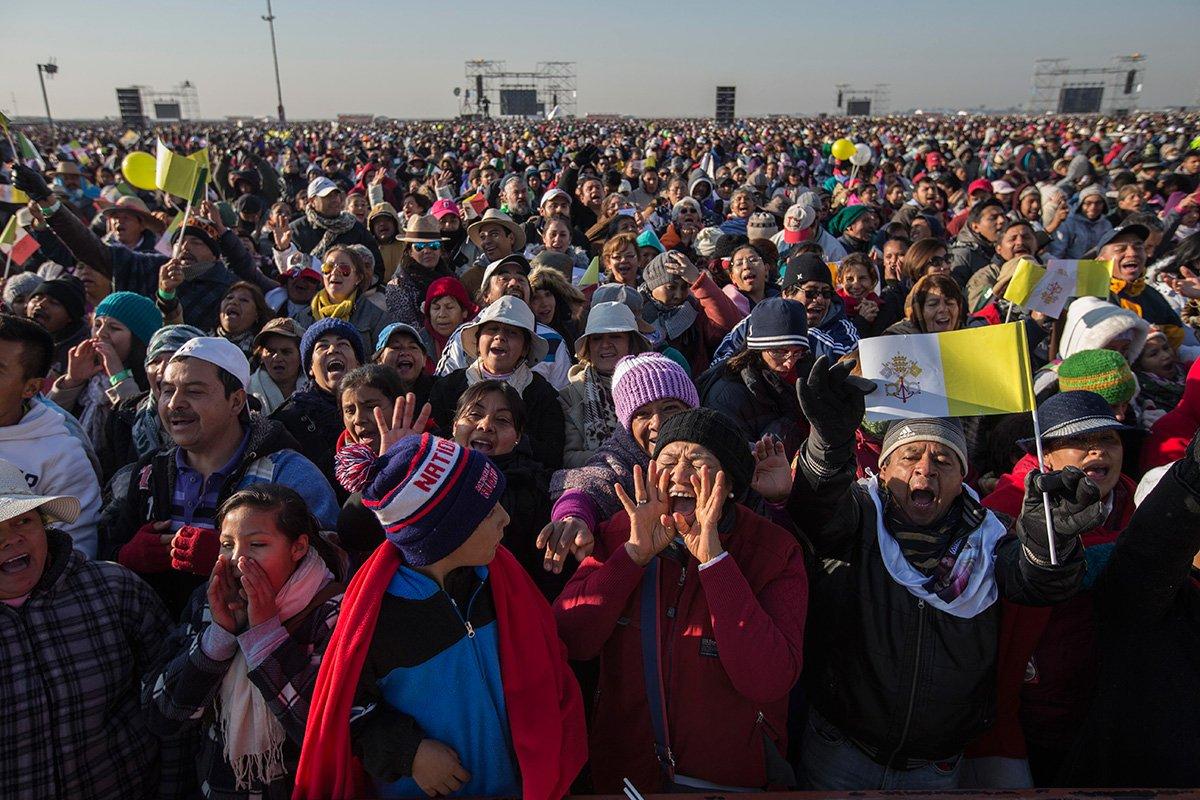 El Papa en Ecatepec, el 'infierno' del DF