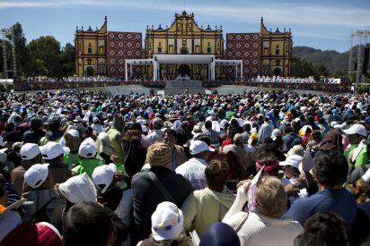 Misa del Papa para los indígenas en San Cristóbal de Las Casas