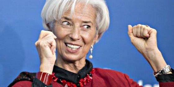 Christine Lagarde elegida por el consejo del FMI para un segundo mandato al frente de la institución