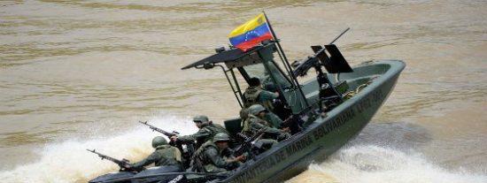 El tiroteo entre la Policía Nacional de Colombia y la Marina de Venezuela