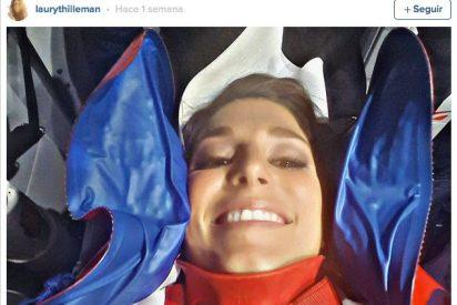Peligrosa caída de Miss Francia mientras hacía un baile erótico en un programa de televisión