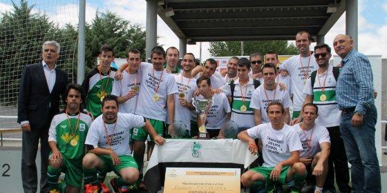 Jóvenes extremeños con parálisis cerebral inician la Liga Nacional de Fútbol 7