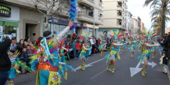 Los danzarines emeritenses ganan el concurso de pasacalles del desfile