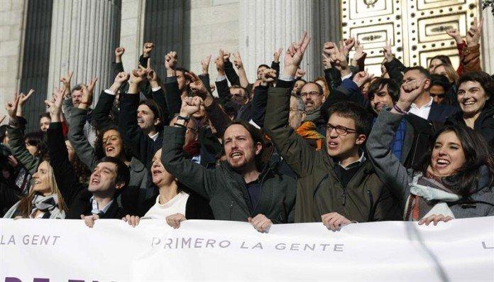 """Los caraduras de Podemos exigen """"privilegios"""" por valor de 5.000 euros en el Congreso"""