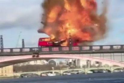 La explosión en el rodaje de una película de Jackie Chan en Londres... que ha desatado el pánico