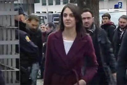 Para esto sí quiere Rita Maestre a la policía municipal: acudió al juzgado con cuatro escoltas