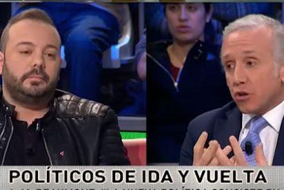 Eduardo Inda pilla a Antonio Maestre por las 'pelotas' con la puerta giratoria de TVE