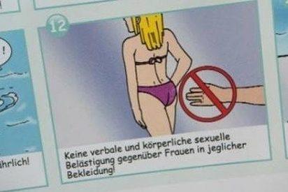 Alemania publica un manual para inmigrantes sobre 'buen comportamiento' en las piscinas