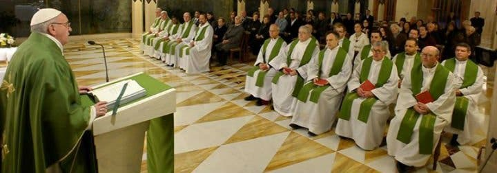 """Francisco: """"La fe es la mayor herencia que podemos dejar a nuestros hijos"""""""